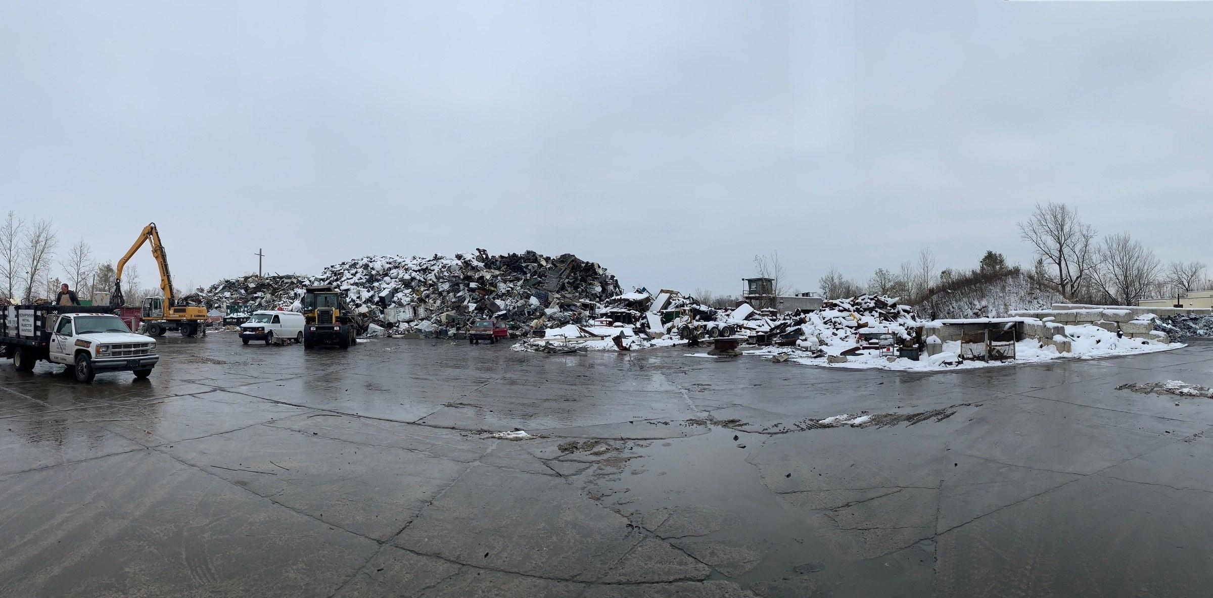 Sikora Metals Detroit Scrap Yard
